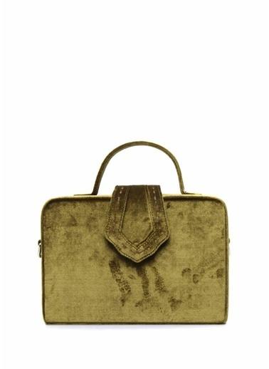 Mehry Mu Messenger / Askılı Çanta Yeşil